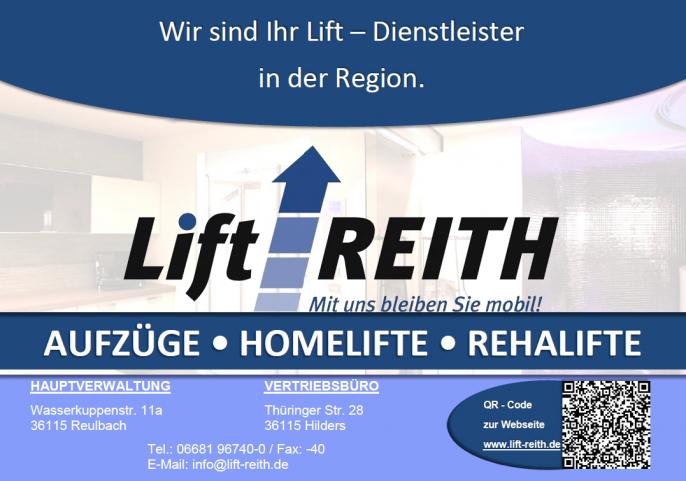 Lift Reith